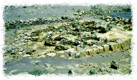 Restos arqueológicos del poblado de Zonzamas