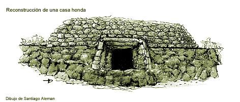 Casa honda, ilustración de Santiago Alemán