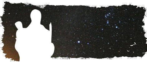 Firmamento con la estrella Canopo en el centro