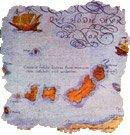 Mapa antiguo de Canarias